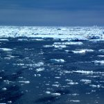 Pack ice in Baffin Bay with some multi-Year Ice
