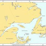 Gulf of St Lawrence Chart