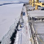Coverage of New Snow on Grey Ice conditions