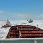 Icebreaker escort Gulf of St. Lawrence