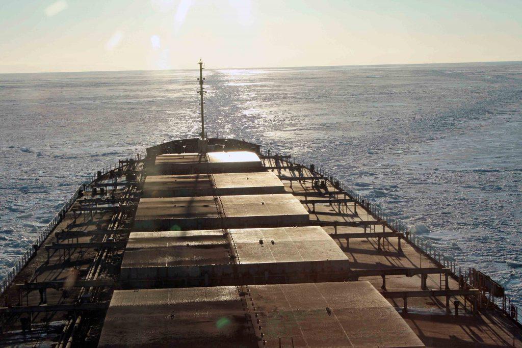 Ship's tracks